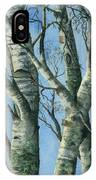 Birch Eye View IPhone Case