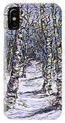 Birch Tree Mosaic 2 IPhone Case