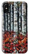 Birch Trees IPhone Case