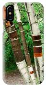 Birch Wood Layers IPhone Case