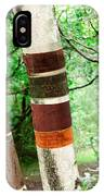 Birch Wood Tree  IPhone Case