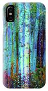 Birch Woods IPhone Case