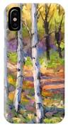 Birches 02 IPhone Case