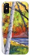 Birches 06 IPhone Case