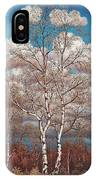Birches In The Spring IPhone Case