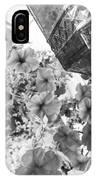 Bird Feeder And Flowers IPhone Case