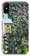 Bird Feeder In Ivy IPhone Case