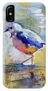 Bird In Lake IPhone Case