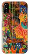 Bird Of Fire Guitar IPhone Case