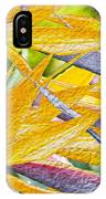 Bird Of Paradise Collage IPhone Case