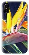 Bird Of Paradise IPhone X Case