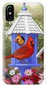 Bird Painting - Primary Colors IPhone X Case