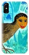 Bird People Blackbird And Worm IPhone Case