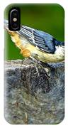 Bird With The Seed IPhone Case
