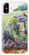 Birdbath IPhone Case