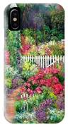 Birdhouse Garden IPhone Case