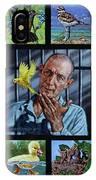 Birdman Of Alcatraz IPhone Case