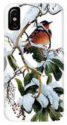 Birds 05 Varied Thrush On Arbutus Robert Bateman Sqs Robert Bateman IPhone Case