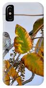 Birds And  Berries IPhone Case
