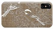 Birds And Burlap 2 IPhone Case