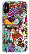 Birds And Butterflies IPhone Case