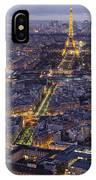 Bird's Eye On Paris 1 IPhone Case