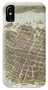 Birds Eye View Of Charleston IPhone Case