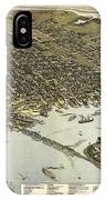 Birds Eye View Of Jacksonville Florida 1893 IPhone Case