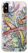 Birds For Louise #3 IPhone Case
