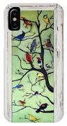 Birds In The Tree Framed IPhone Case