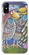 Birds Of A Feather Stick Together IPhone Case
