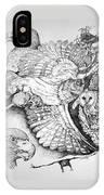 Birds Of Prey Collage One IPhone Case