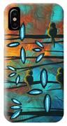 Birds Of Summer By Madart IPhone Case