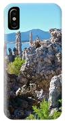 Birds On Tufa Towers-mono Lake IPhone Case