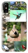 Birdsong Nature Center Collage IPhone Case