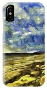 Birling Gap And Seven Sisters Art IPhone Case