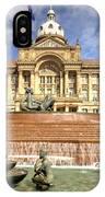 Birmingham City  Town Hall  IPhone Case