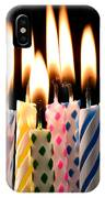Birthday Candles IPhone Case
