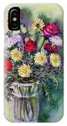 Birthday Flowers IPhone Case