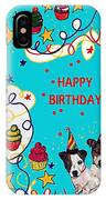 Birthday Twins IPhone Case