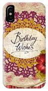 Birthday Wishes IPhone Case
