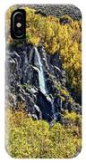 Bishop Creek Falls IPhone Case