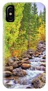 Bishop Creek In Autumn IPhone Case