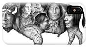 Bison Indian Montage IPhone Case