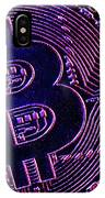 Bitcoin Coins In A Mysterious Lighting IPhone Case