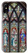Black Abbey Window - Kilkenny - Ireland IPhone Case