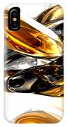 Black Amber Abstract IPhone Case