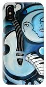 Black And Bleu IPhone Case