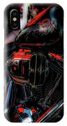 Black And Red Harley 5966 H_2 IPhone Case