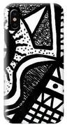 Black And White 14 IPhone X Case